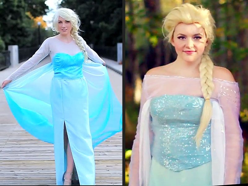 elsa halloween accessories