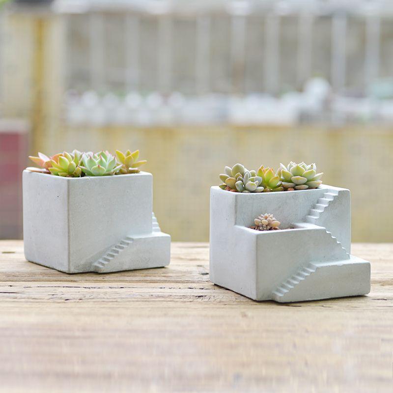resultado de imagen de jardineras cemento