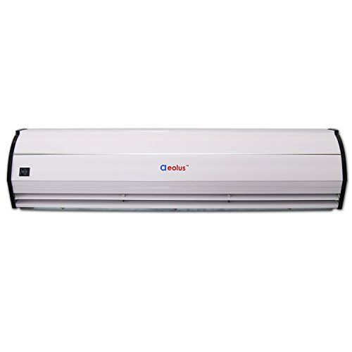Welbon Super Thin Alloy Case Commercial Air Curtain With Heavy