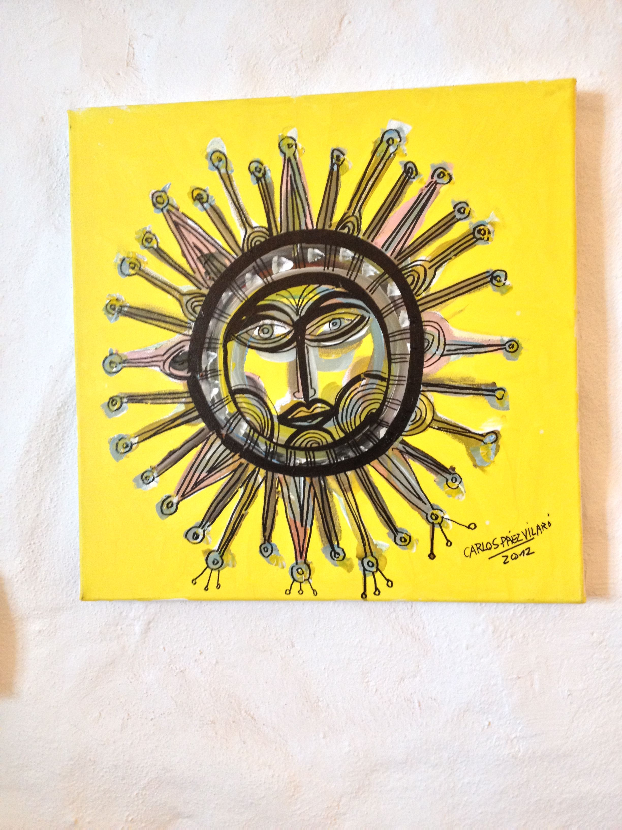 Sun Painting From Uruguay