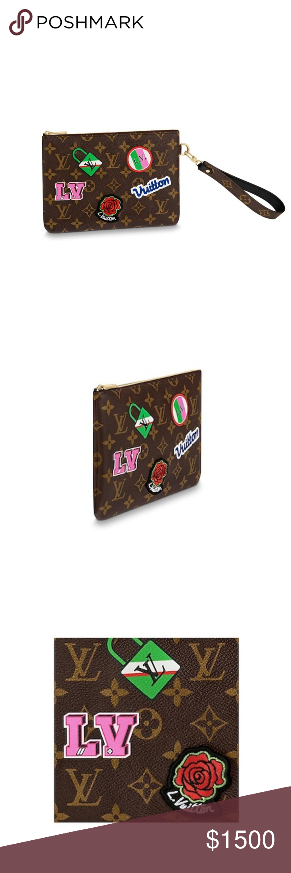 e1f66a1391a Louis vuitton city wristlet limited edition M63447 Brand new in box ...
