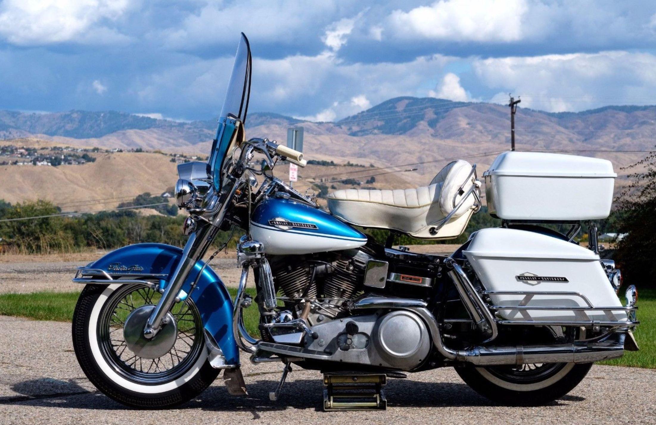 Ending Soon 1965 Harley Davidson Flh Harley Davidson Harley Panhead For Sale [ 1427 x 2202 Pixel ]