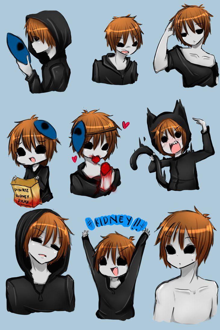 Eyeless Jack Expression! by IkaNe96 Creepypasta cute