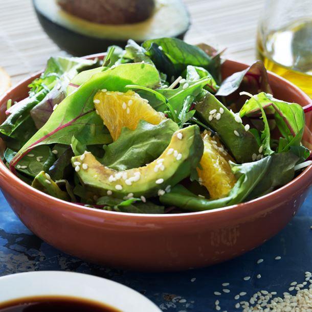 salade d 39 hiver aux trois feuilles facile salatik pinterest salade salade d hiver. Black Bedroom Furniture Sets. Home Design Ideas