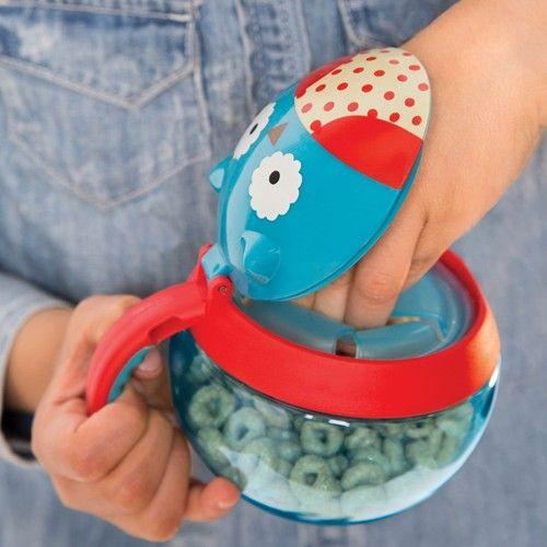 skip*hop snack cup uil   ilovespeelgoed.nl