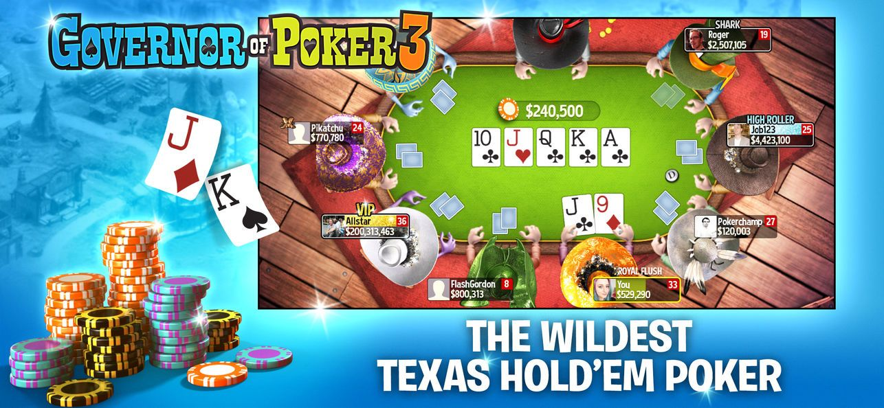 Governor of Poker 3 Vegas' on the App Store