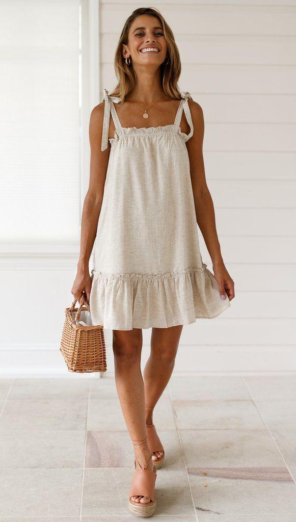 Photo of Caris Dress Material: Cotton, Linen A-li … – #Ali #Caris #Cotton #Dress #Linen …