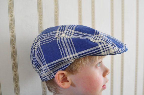 Boy Flat Ring Bearer Hat Cap Driving Cap Newboy Hat Ivy Cap by bimont on  Etsy cec62275b8d