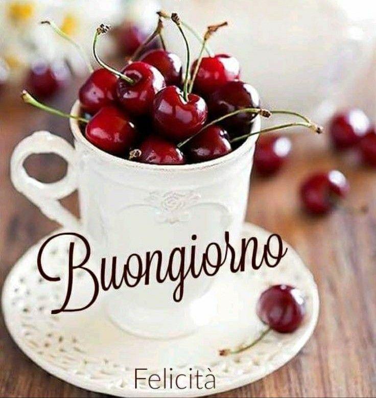 С добрым утром на итальянском картинка