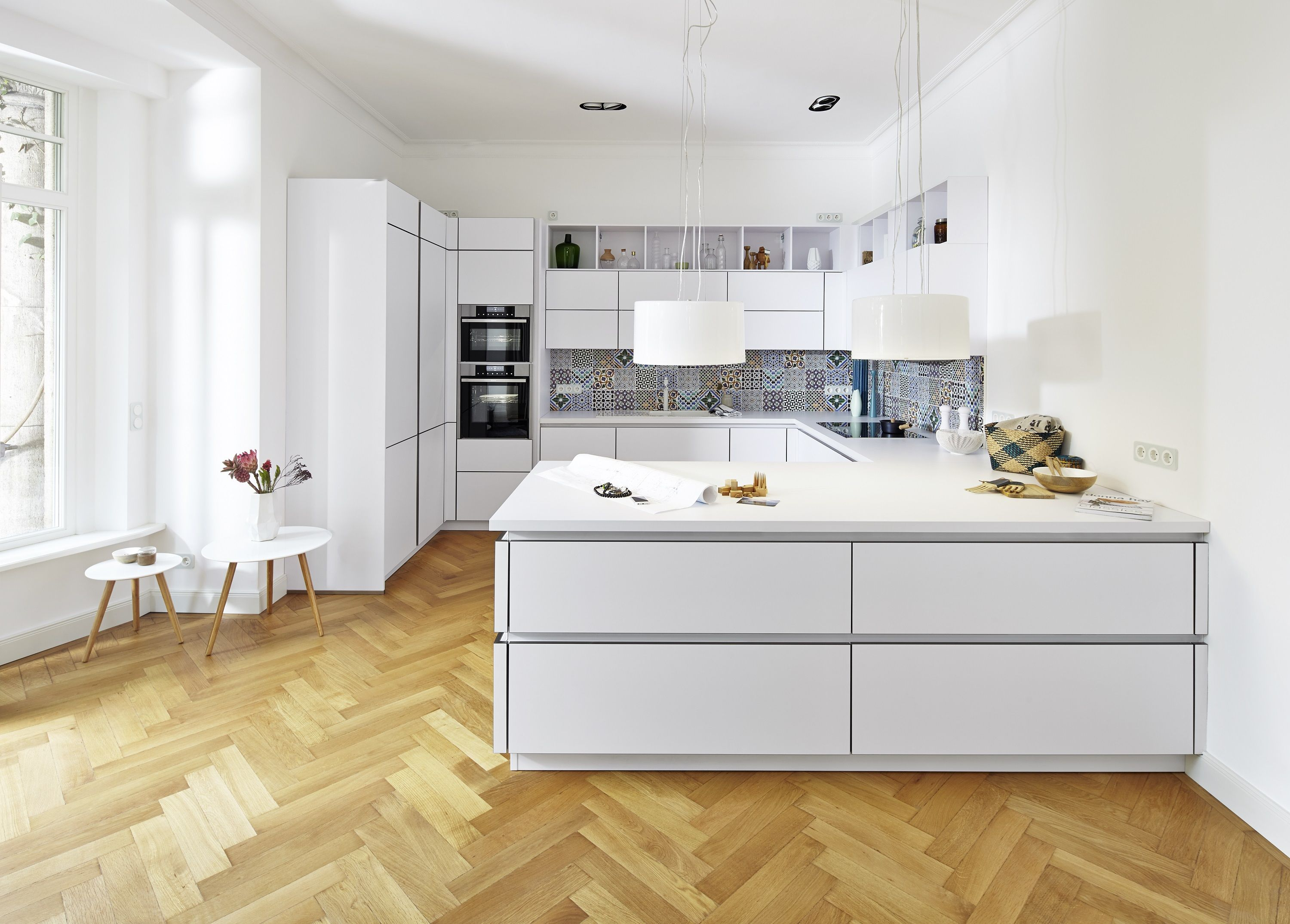 german kitchen we will be displaying with bauformat at the. Black Bedroom Furniture Sets. Home Design Ideas
