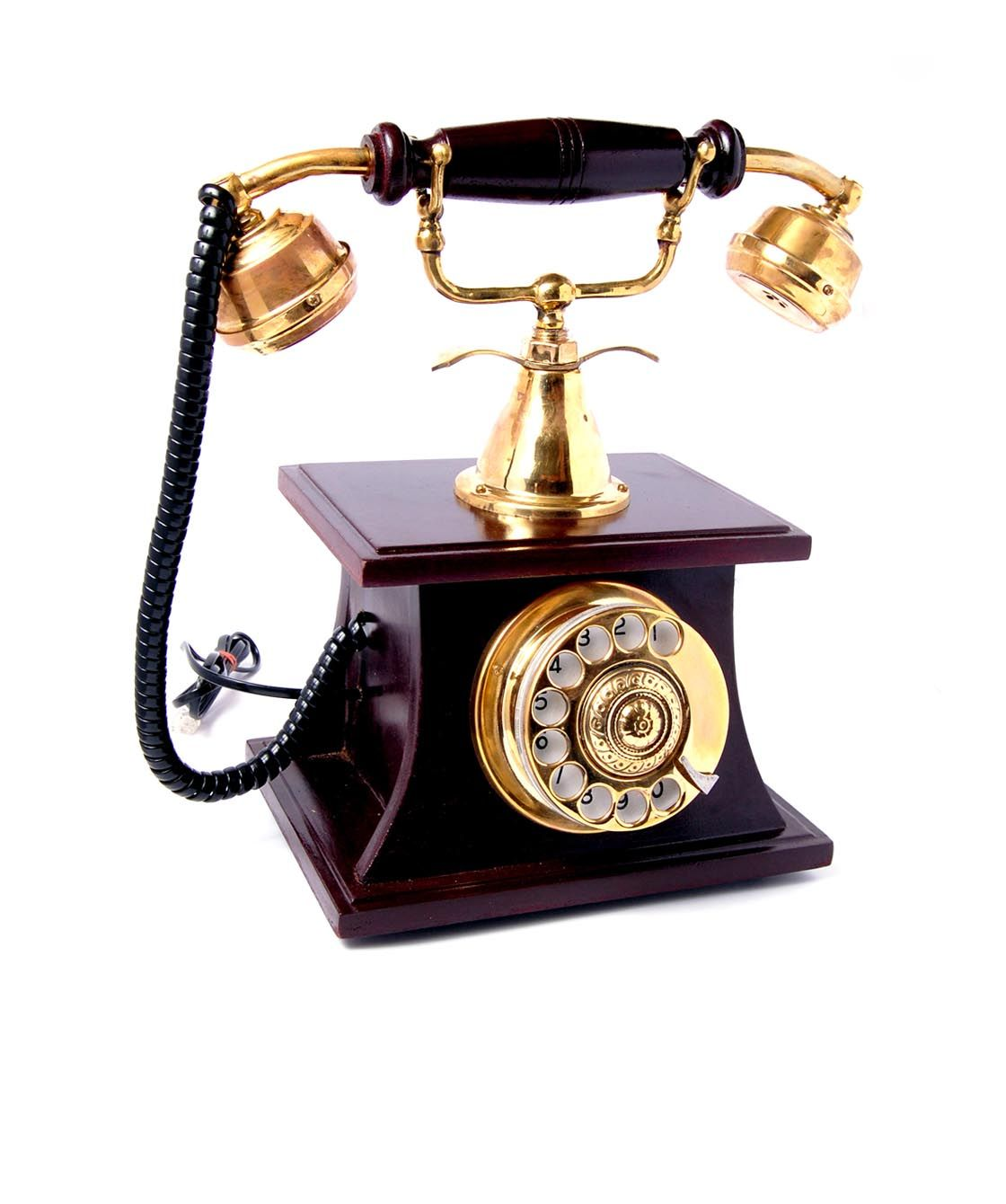 hight resolution of antique phone