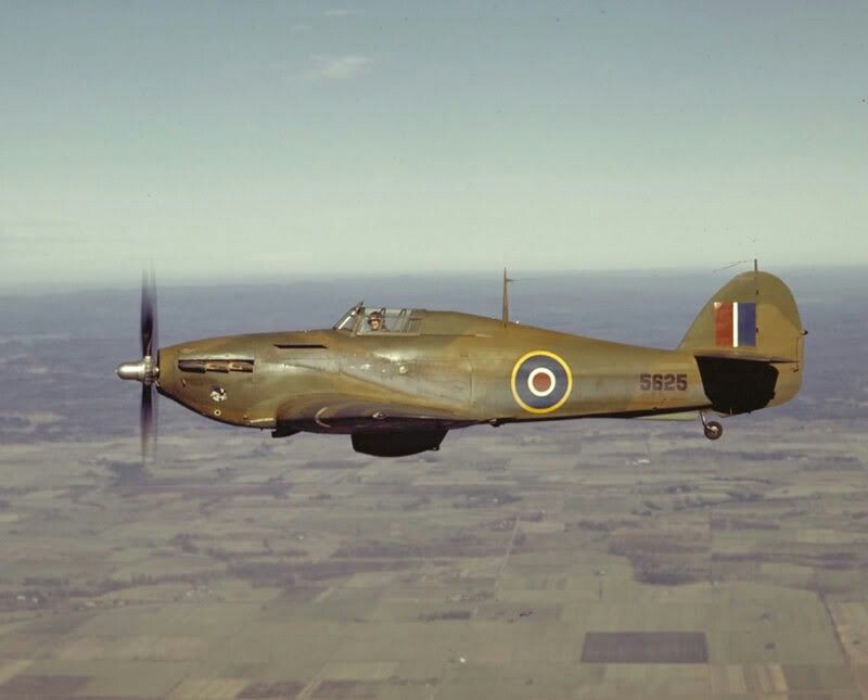 Royal Canadian Air Force Hurricane XII (RCAF Serial 5625