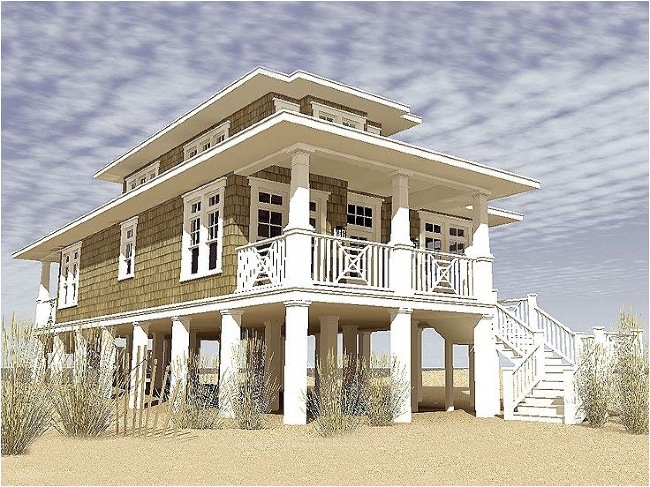 Narrow Beach House Designs Narrow Lot Beach House Plans From Beach House Plans Small Beach Houses Coastal House Plans Stilt House Plans