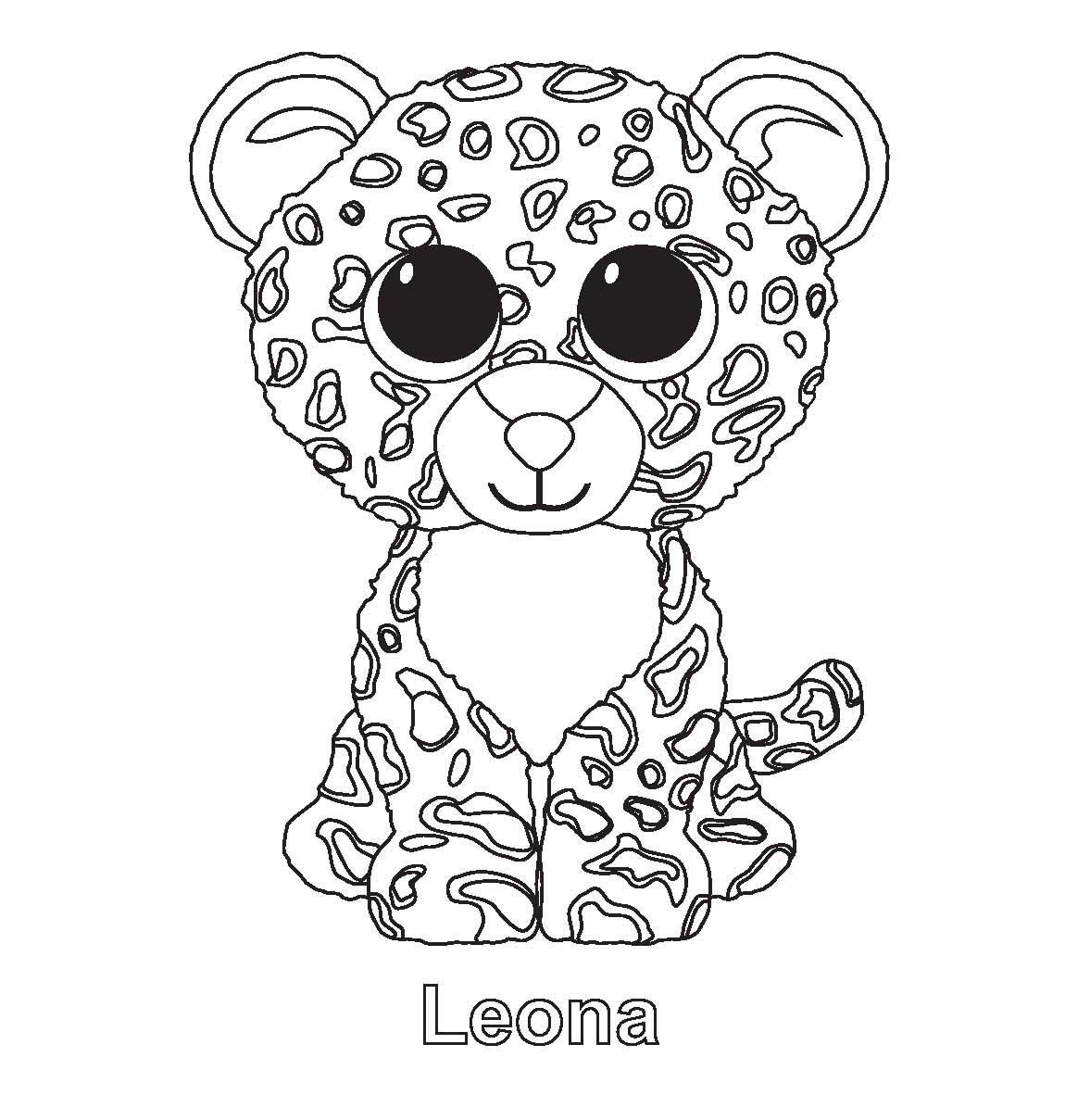 Beanie Boo Colouring Pages Unicorn Coloring Pages Beanie Boo