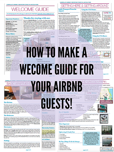 The Ultimate Guide to Hosting on Airbnb: How to make a Welcome Guide