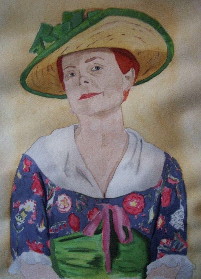 comissioned watercolour portrait