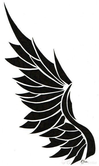 Cool Wing Tattoo Design Wings Tattoo Wing Tattoo Designs Emo Tattoos
