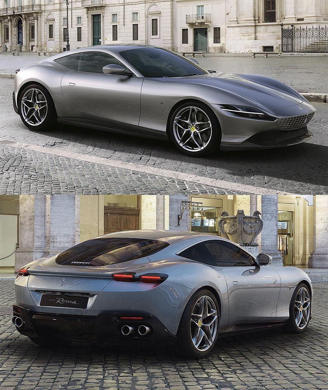 Car Design World On Instagram Ferrari Roma Official Photos