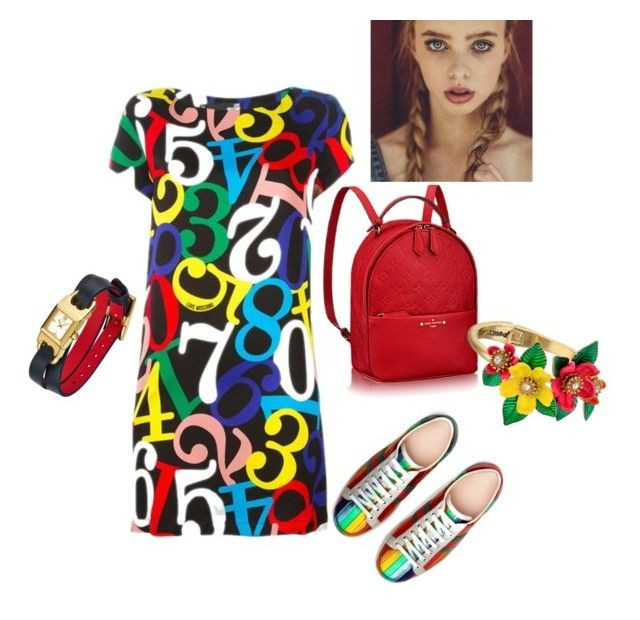 """""""Young and pretty"""" by i-lilu ❤ liked on Polyvore featuring Gucci, Tory Burch and Betsey Johnson"""