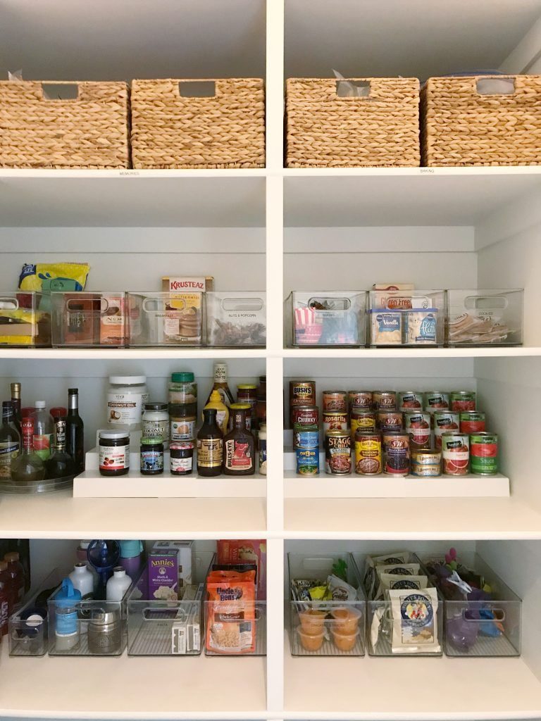 Organize Like A Pro How To Organize A Pantry Simply Organized Diy Pantry Organization Deep Pantry Diy Pantry Shelves