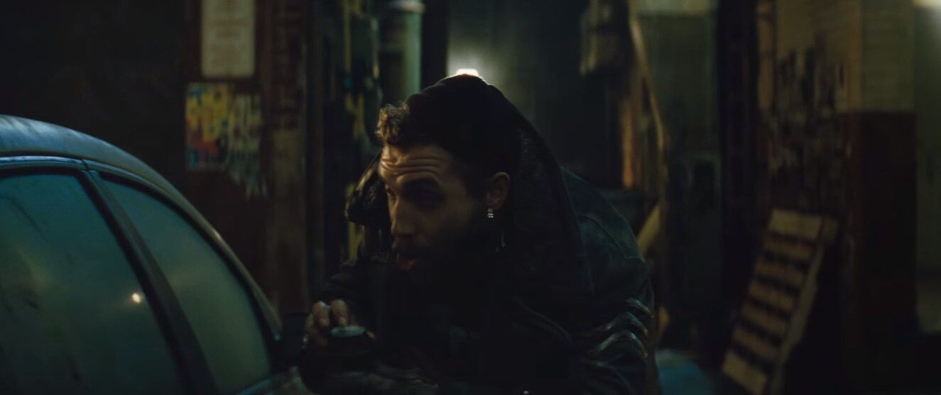 "Jai Courtney as Captain Boomerang in ""Suicide Squad"" movie"