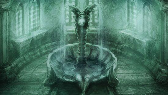 Amnesia The Dark Descent Fountain Scary Games Amnesia