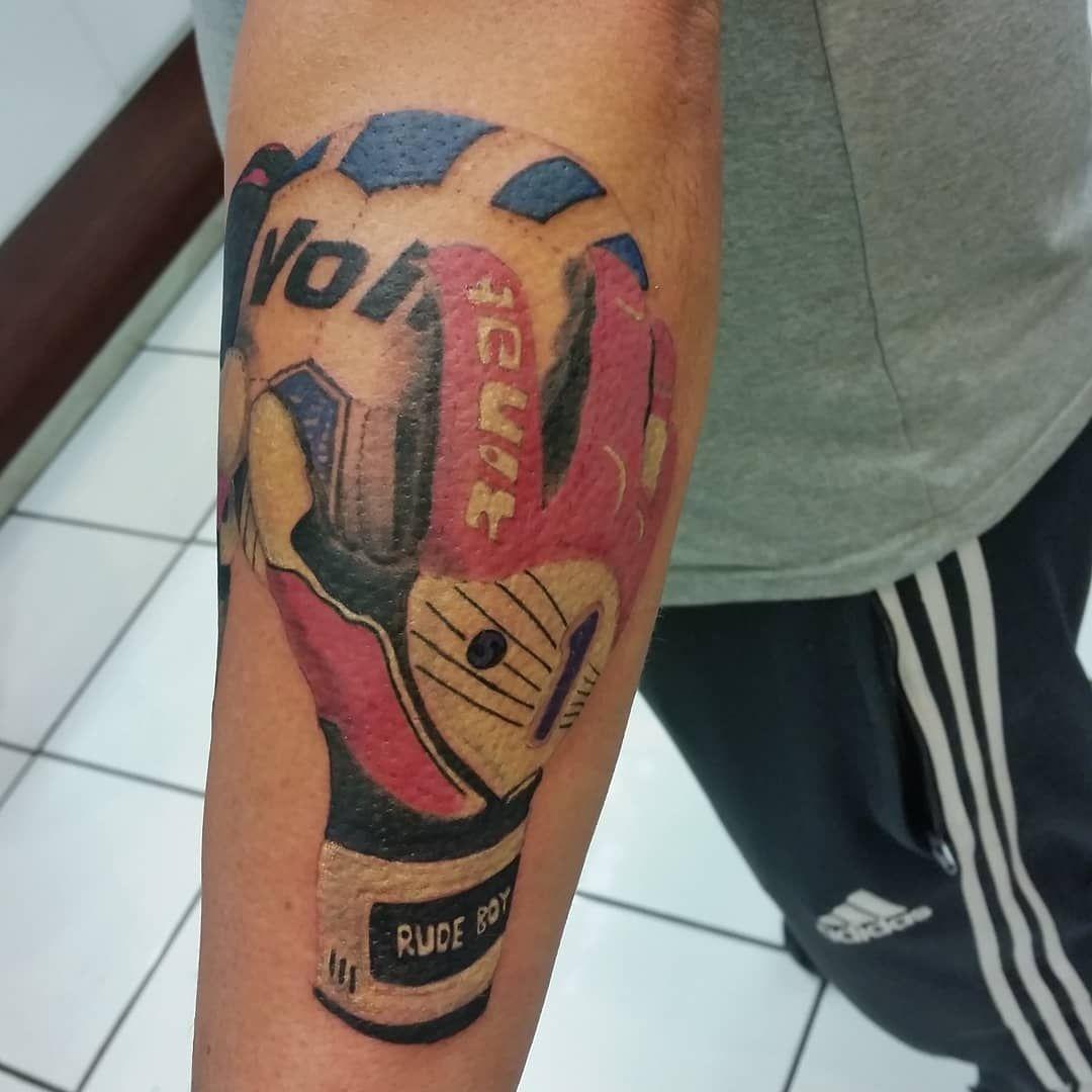 Goalkeeper Tattoo Great Work By Roge Soccer Goalkeeper