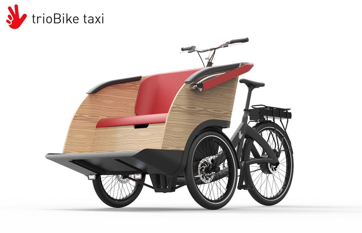 trioBike taxi: un sofá sobre ruedas