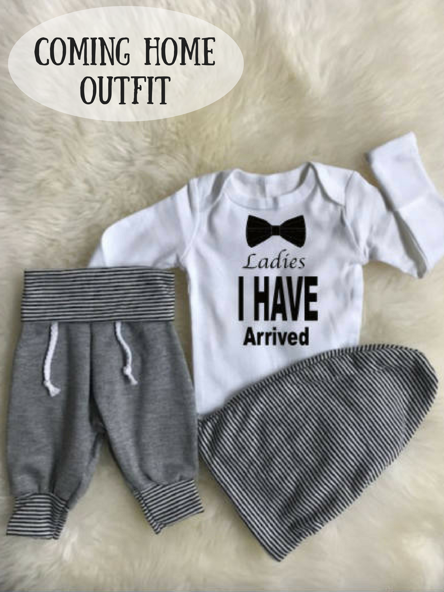 de89e0c6c83a Such a cute coming home outfit for baby boy!  affiliate  baby ...