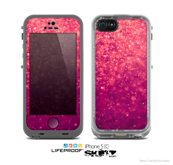 reputable site 36492 5f2e0 The Unfocused Pink Glimmer Skin for the Apple iPhone 5c LifeProof ...