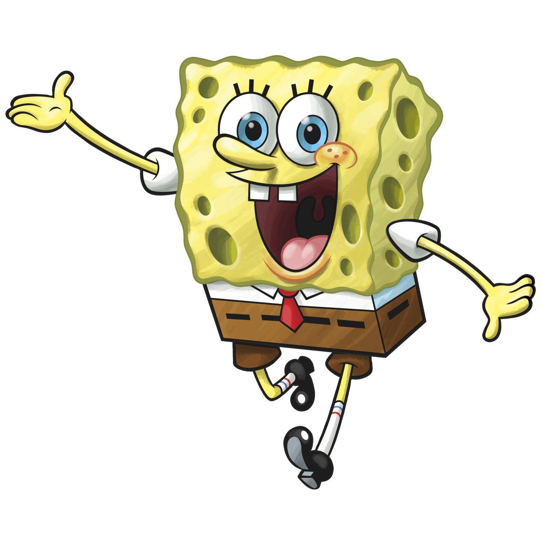 RoomMates RMK1406GM SpongeBob Squarepants Peel & Stick Giant Wall ...