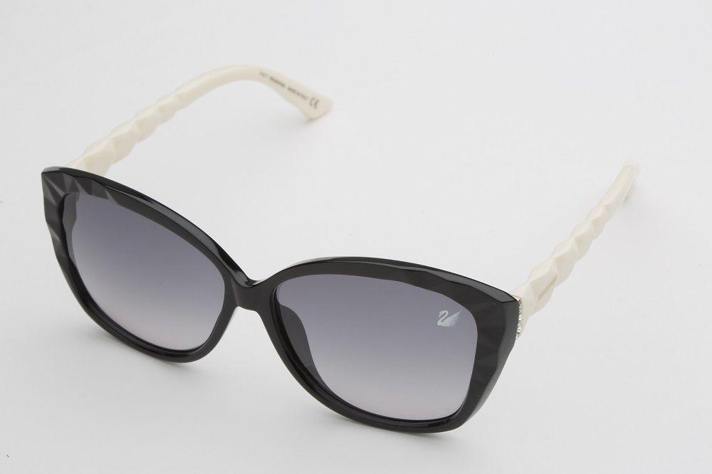 422c3793e اشتري سواروفسكي نظارات شمسية ، للنســاء ، عدسات بلون رمادي شكل عين القطة -  Sk9058 04B -60 -13 -140 | الامارات | سوق