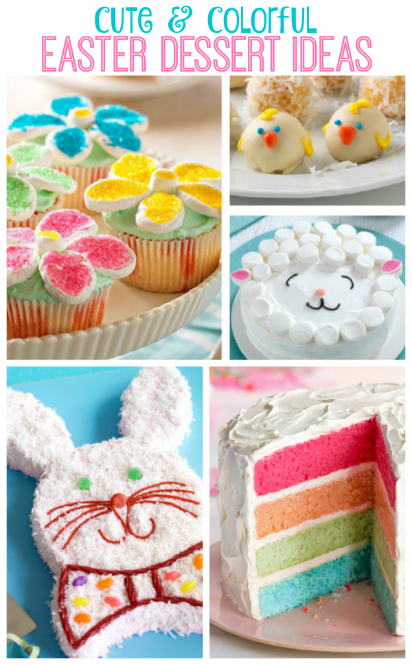 Cute and Easy Easter Dessert Ideas | Easy easter desserts ...