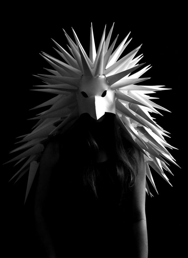 Wearable Art – Paper Headdress on Behance #wearableart