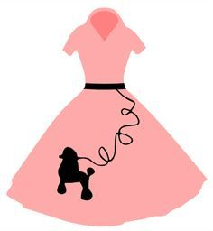 10 Poodle Skirt Clip Art Free Cliparts That You Can Download To