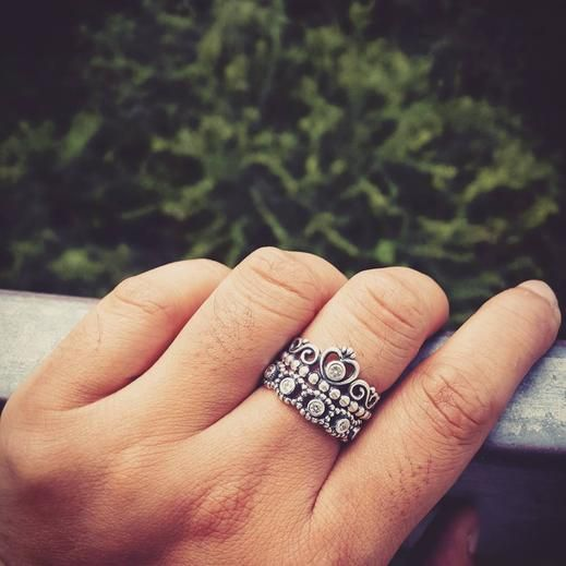 My Princess Stackable Ring, Clear CZ   PANDORA Jewelry US