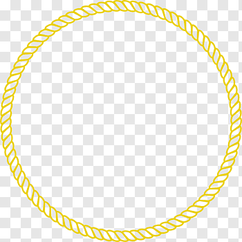 Round Yellow Frame Rope Circle Transparaent Lasso S Free Png Rope Drawing Hand Drawn Arrows Circle Drawing