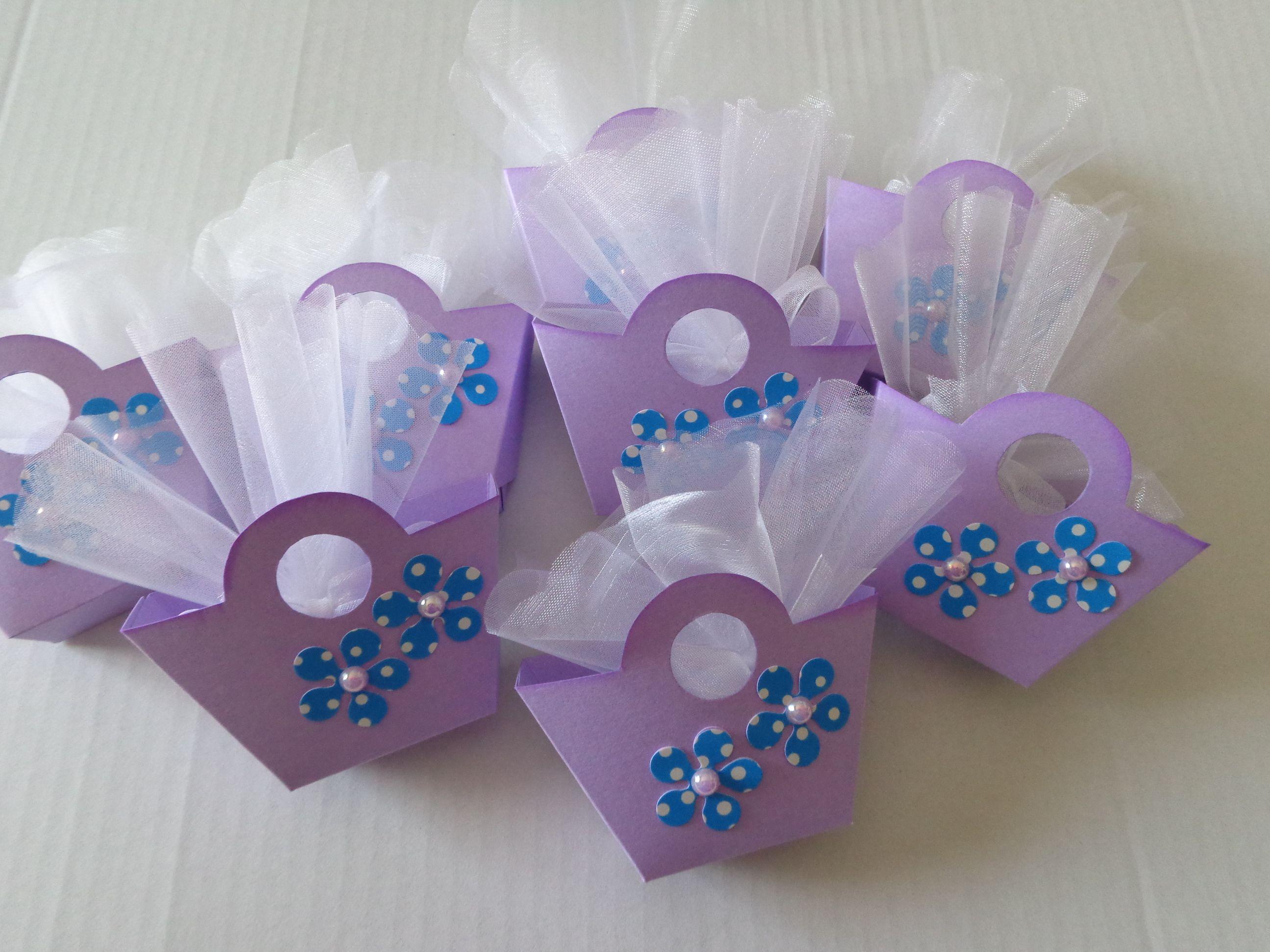Scatoline porta confetti - segnaposto per una Prima ...
