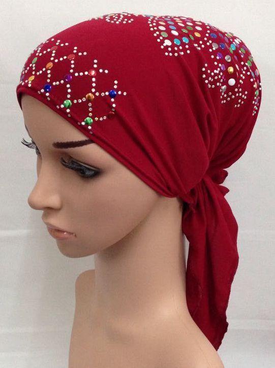 e212f6e18da Fashion Muslim Women Hijabs Abaya Caps Islamic Women s Hats Ladies Scarf Hijab  Muslim Turban Head Wear Hat Arab bonnet Hijab