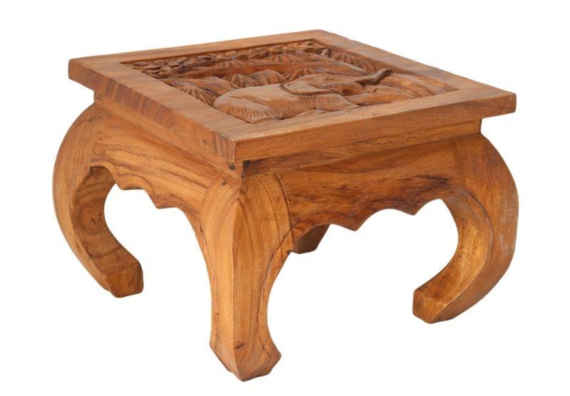 Olifant Side Table.Opiumtafel 35 X 35 Olifant Verkrijgbaar Bij Lotus Oosterse