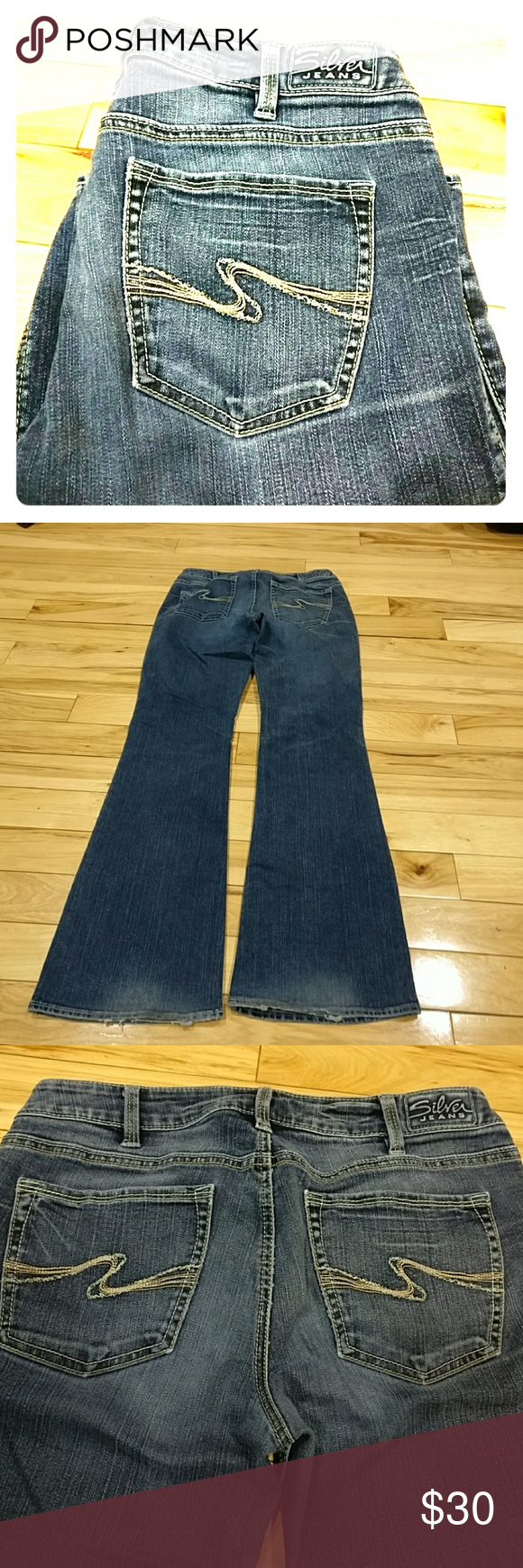 Silver Jeans Aiko size 31/33 | D, Abs and Colors