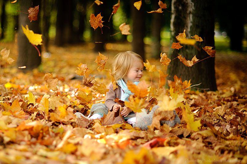 осенняя фотосессия детей на природе: 20 тыс изображений ...