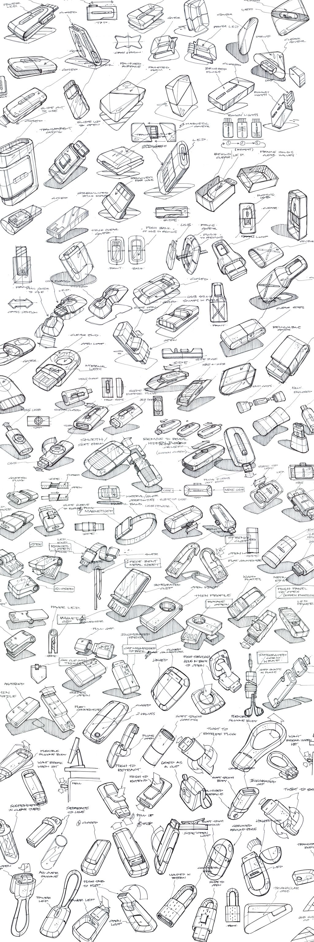 Product Sketching Ideation On Behance
