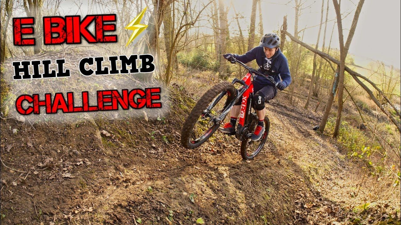 E Bike Hill Climb Challenge What Can A Emtb Climb Hill Climb