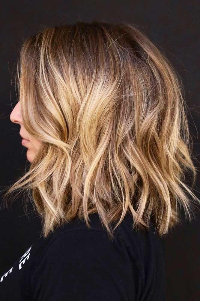 24 Shoulder Length Haircuts To Flatter You Hair Pinterest Hair