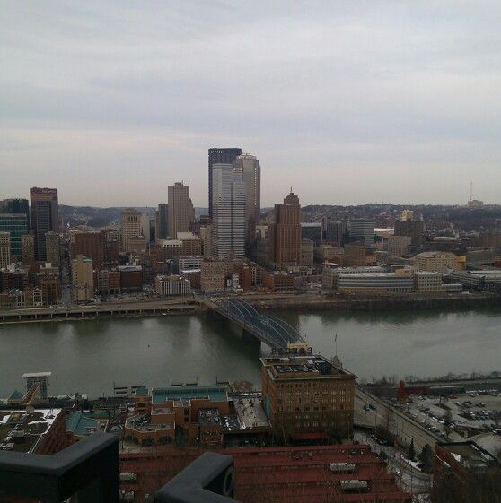Pittsburgh on top of Incline