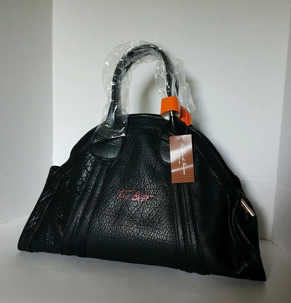 La Gioe Di Toscana By Sharon Black Genuine Leather Italian Handbag Purse Ebay