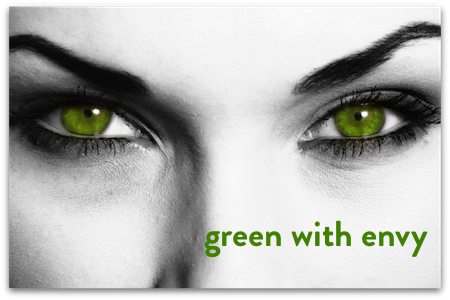 Five Color Idioms Part 3: Green - Voxy Blog | Green With Envy