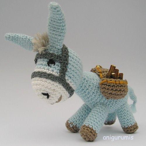 Patrón Burrito Platero | Amigurumi Crochet Plushies | Pinterest ...