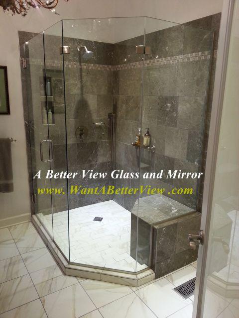 Frameless Glass Shower Door Williamsburg Va Renovation Ideas